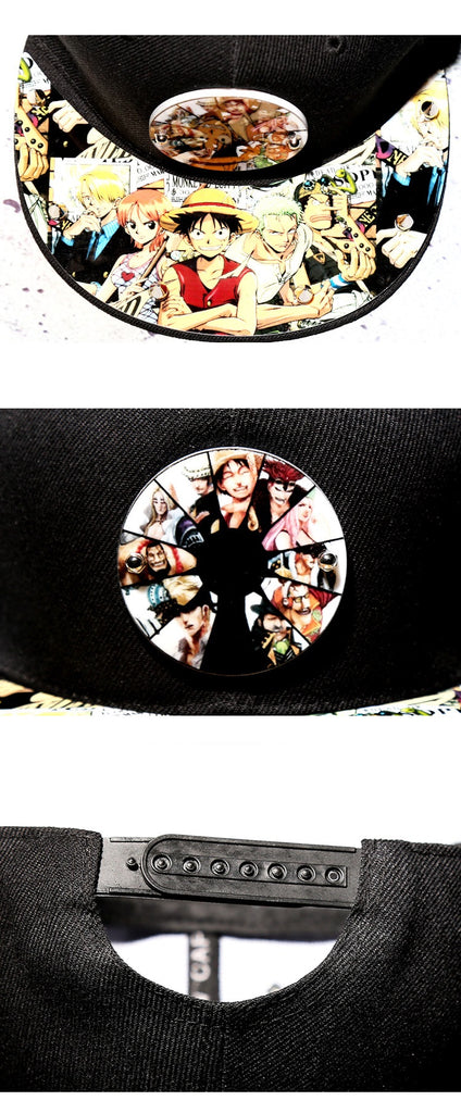 One Piece Anime Hats