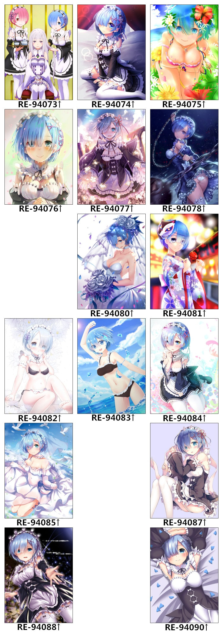 Re Zero Bed Set, Bed Sheet Designs