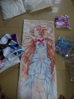 Anime Body Pillow - Sample