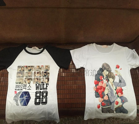 sample anime t-shirt photo