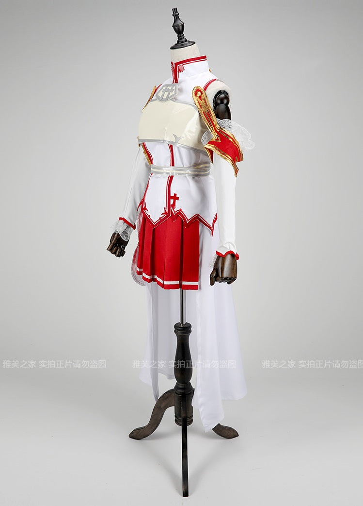 Sword Art Online Asuna Cosplay Set, Wig, Boots, Sword