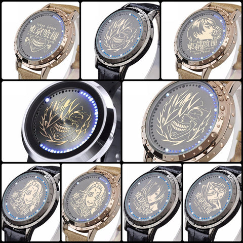 Tokyo Ghoul | Waterproof Touchscreen LED Watch - Anime Print House