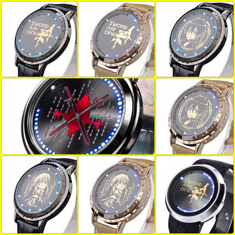 Sword Art Online | Waterproof Touchscreen LED Watch - Anime Print House