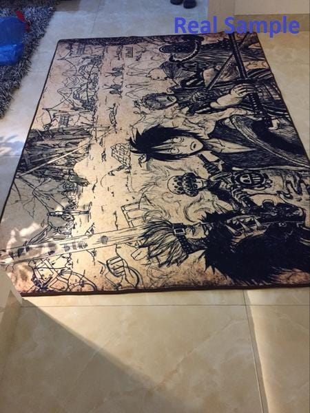 My Hero Academia Carpet with Collage Design