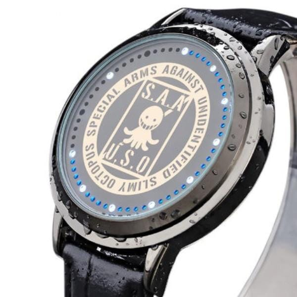 Assassination Classroom Waterproof Touchscreen LED Watch - Anime Print House