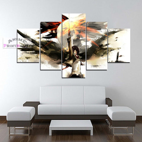 Attack on Titan Canvas Print | Mikasa Ackerman