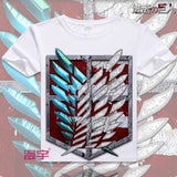 Attack on Titan Anime T-Shirt | Unisex | 9 Designs- B - Anime Print House