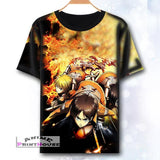 Attack on Titan Full Color Printed T-Shirts in 4 Designs