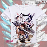 Attack on Titan Anime T-Shirt | Unisex - 9 Designs - Anime Print House