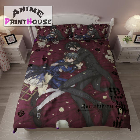 Black Butler Kuroshitsuji Bedding Sets | Over 70 Designs