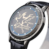 Black Rock Shooter Waterproof Touchscreen LED Watch - Anime Print House
