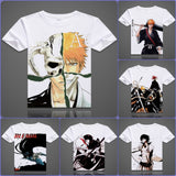 Bleach T-Shirts| Men & Women - 6 Designs|C - Anime Print House