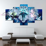 Blue Exorcist Canvas Print Wall Decor | Rin, Mephisto & Yukio