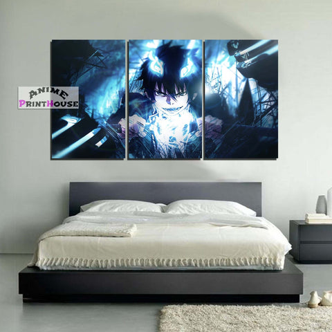 Blue Exorcist Canvas Print Wall Decor | Rin Okumura