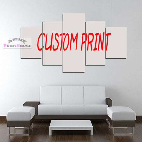 Custom Print Canvas Set