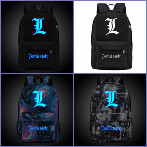 Death Note Backpack | Simple & Glowing