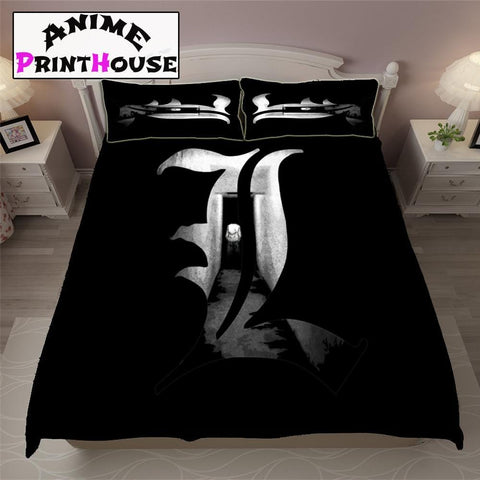 Death Note Logo Blanket, Sheets & Covers | Logo Model
