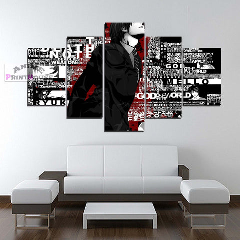 Death Note L. Canvas Print