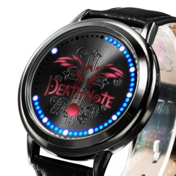 Death Note Waterproof Touchscreen LED Watch - Anime Print House