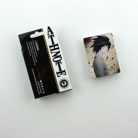 Free Gift Death Note Poker Cards