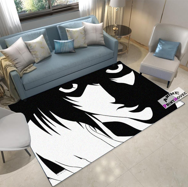 Death Note Rug, Close Up Design