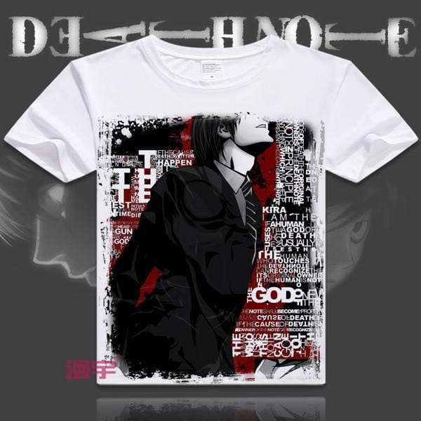 Death Note T-Shirt | Men & Women - 6 Designs| B - Anime Print House