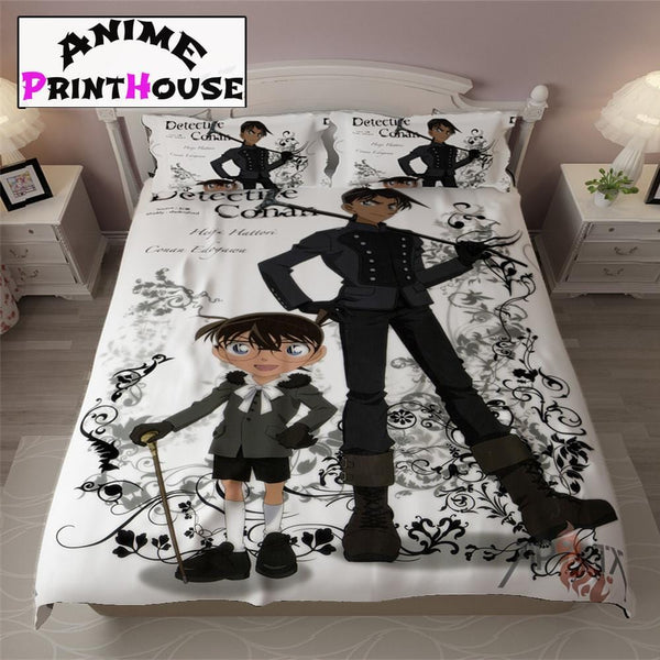 Detective Conan Bedding, Blankets, Sheets & Pillow Covers