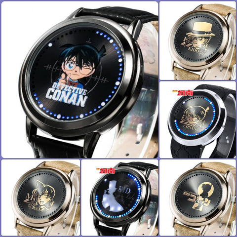 Detective Conan Waterproof Touchscreen LED Watch - Anime Print House