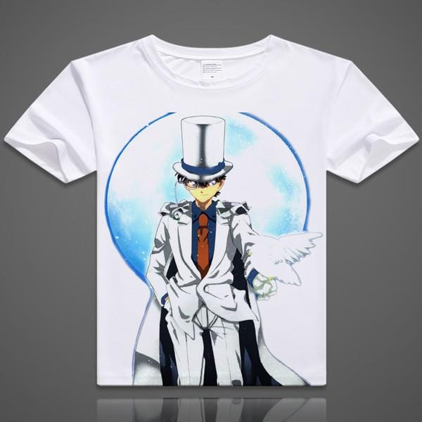 Detective Conan T-Shirts| Men & Women - 6 Designs| B - Anime Print House