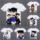Detective Conan T-Shirts| Men & Women - 6 Designs| C - Anime Print House