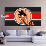 Dragon Ball Canvas Prints , Kid Goku | 1 to 5 Pieces