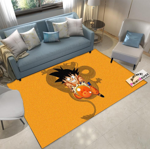 Dragon Ball Carpet & Rug, Goku with Shenron