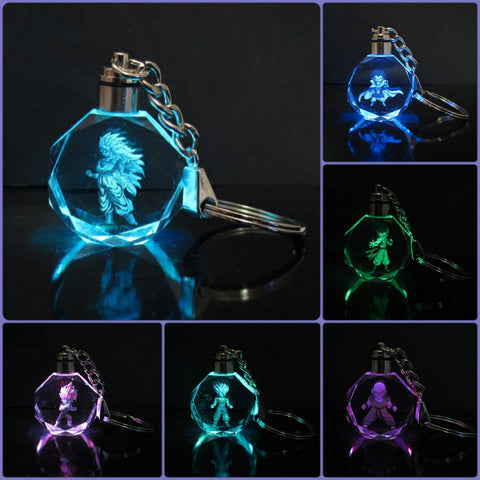 Dragon Ball LED Key Chain Collection with Gift Box