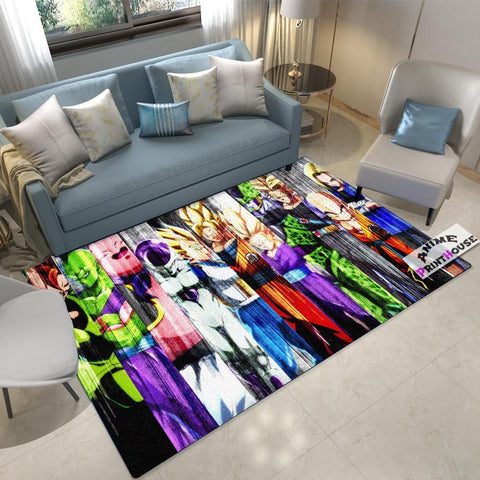 Dragon Ball Rug , All Fighters Carpet