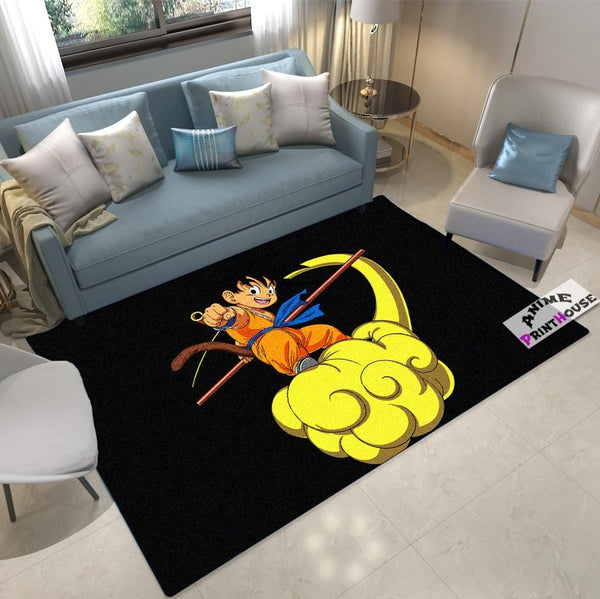 Dragon Ball Rug, Goku on Cloud Carpet