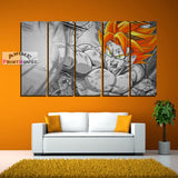 Dragon Ball Super Canvas Prints , Super Saiyan Goku | 1 to 5 Pieces