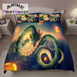Dragon Ball Z Blanket, Bedding Set with Shenron Theme
