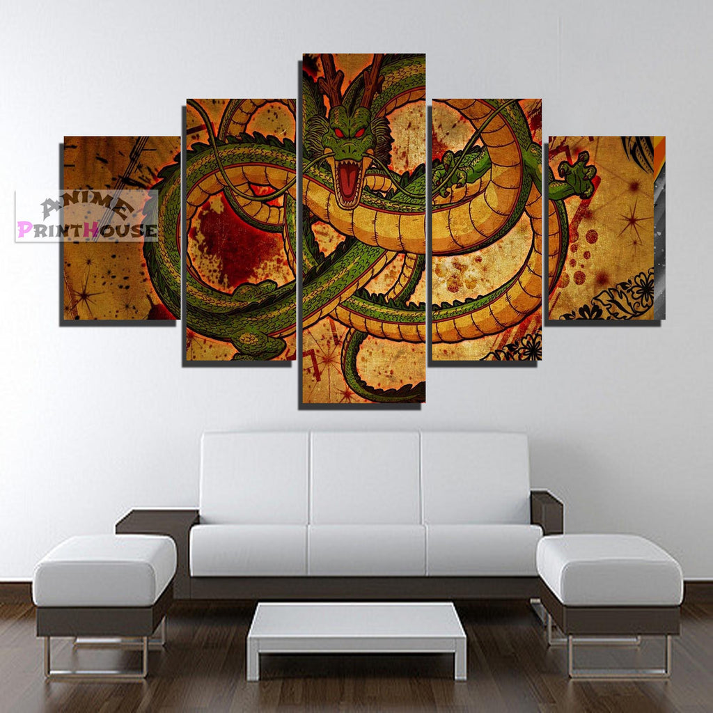 Dragon Ball Z Canvas Print Shenron Anime Canvas Prints