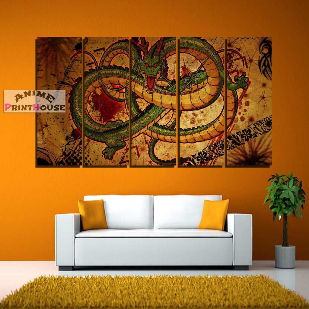 Dragon Ball Z Canvas Print , Shenron | 1 to 5 Pieces