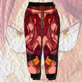Fairy Tail | Erza Scarlet Printed Joggers - Anime Print House