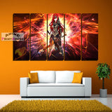 Fairy Tail Canvas , Erza Scarlet  | 1 to 5 Pieces