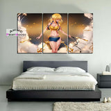 Fairy Tail Lucy with Keys Printed Canvas Wall Decor
