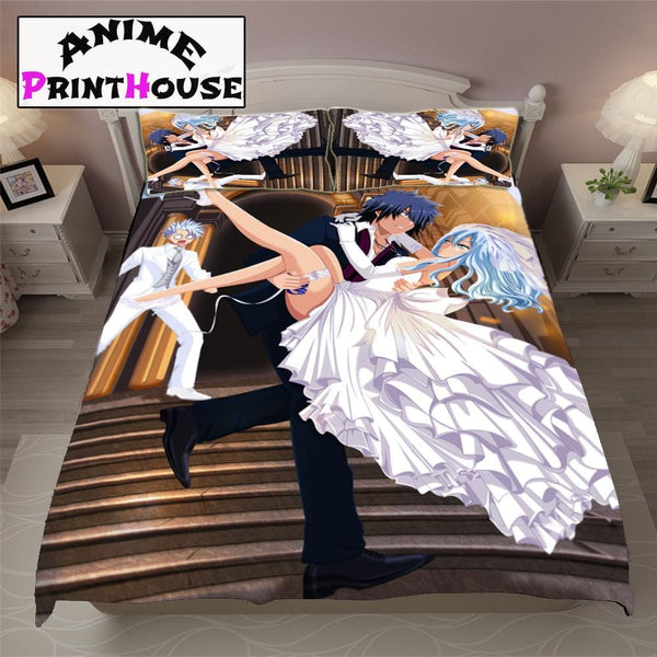 Fairy Tail Gray & Juvia Gruvia Bed Set | Over 70 Designs