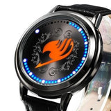 Fairy Tail Waterproof Touchscreen LED Watch
