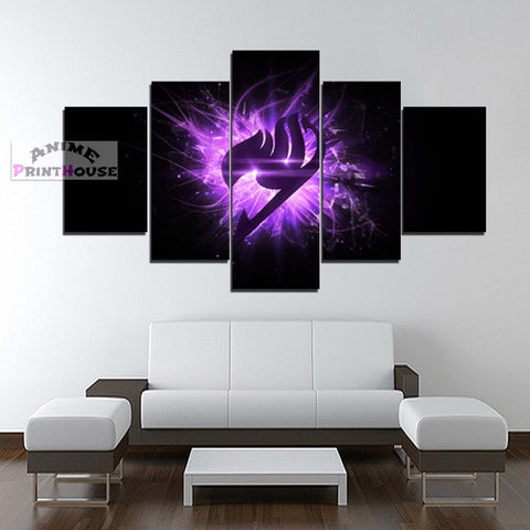 Fairy Tail Logo Canvas Print for Wall