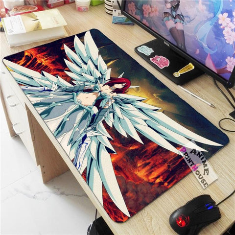 Fairy Tail Mouse Pad Erza Scarlet Heaven's Wheel Armor