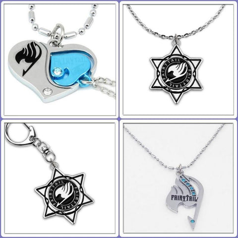 Conditional Free Fairy Tail Necklace | 4 Models