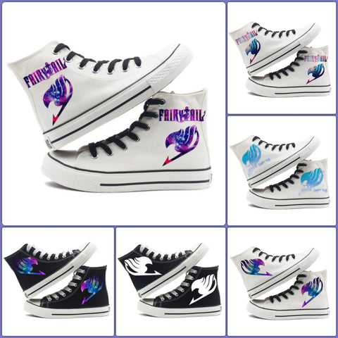 Fairy Tail Logo Shoes