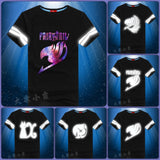 Fairy Tail Reflective T-Shirt | 6 Designs - Anime Print House