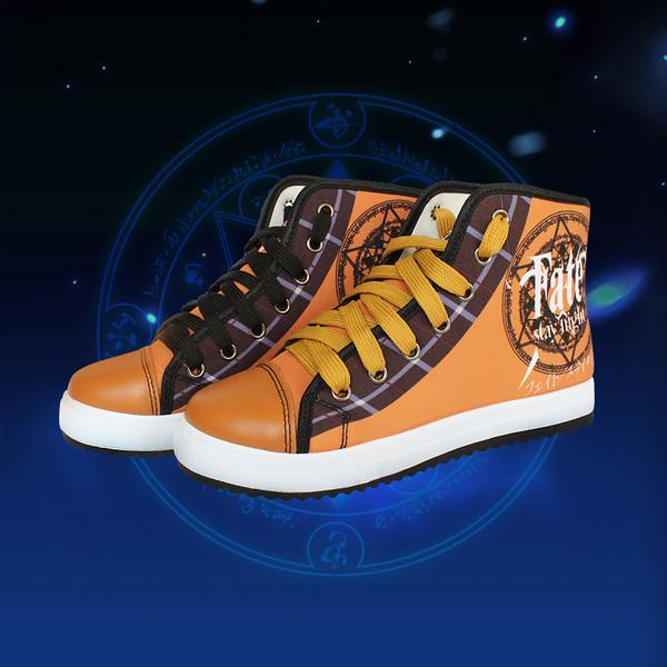 Fate/Stay Night Canvas Shoes - Anime Print House